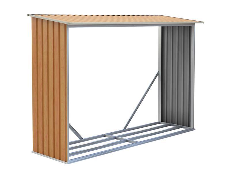 Přístřešek na dřevo G21 WOH 181 2.3 m3 BROWN