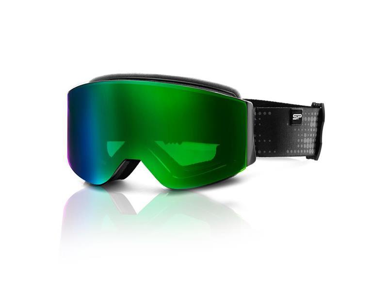 Brýle lyžařské SPOKEY GRANBY černo-zelené