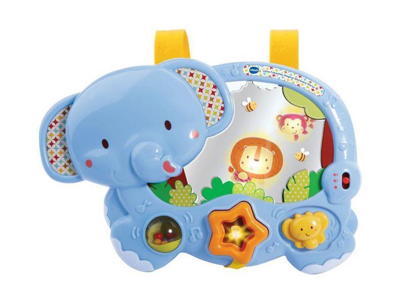 Dětské piánko slon se zvířátky TEDDIES se zvukem a světlem 28 cm