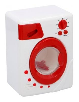 Dětská pračka TEDDIES se zvukem a světlem 19 cm