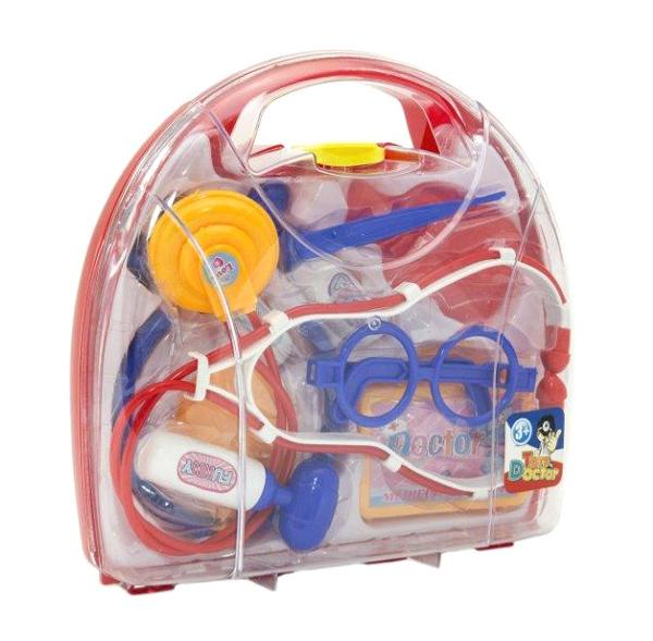 Dětský doktor TEDDIES v kufříku 9ks