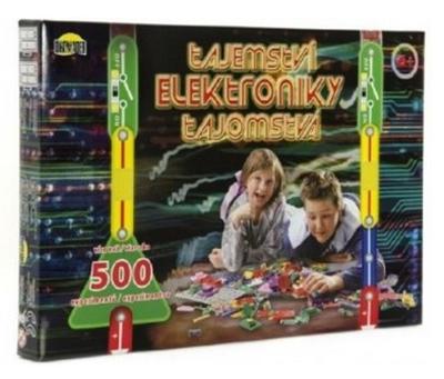 Elektronická stavebnice TEDDIES TAJEMSTVÍ ELEKTRONIKY 500 EXPERIMENTŮ