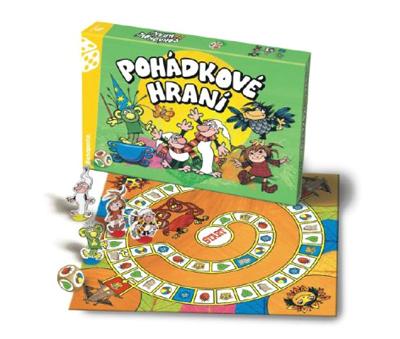 Stolní hra BONAPARTE Pohádkové hraní Večerníček