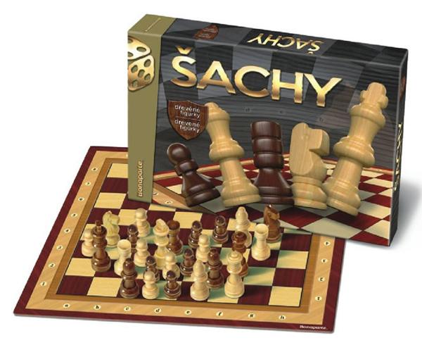 Hra stolní BONAPARTE Šachy dřevěné