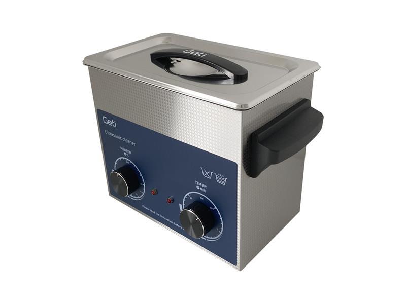 Ultrazvuková čistička Geti GUC 03A 3L nerez