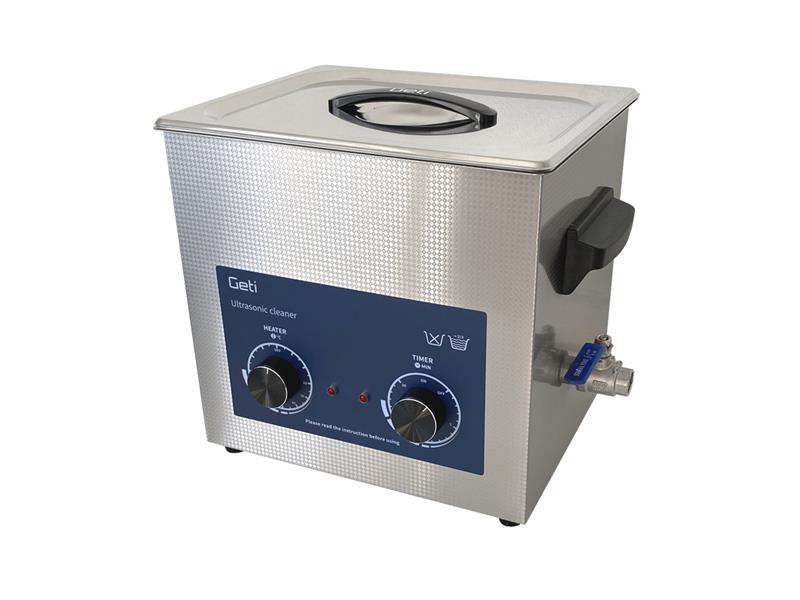 Ultrazvuková čistička Geti GUC 10A 10L nerez
