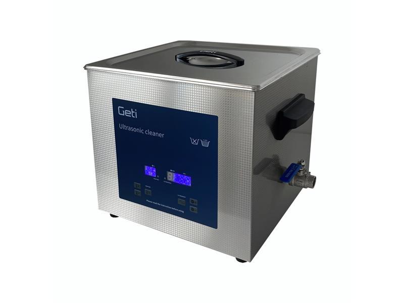 Ultrazvuková čistička Geti GUC 13B 13L nerez