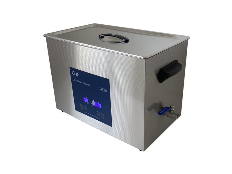 Ultrazvuková čistička Geti GUC 27B 27L nerez