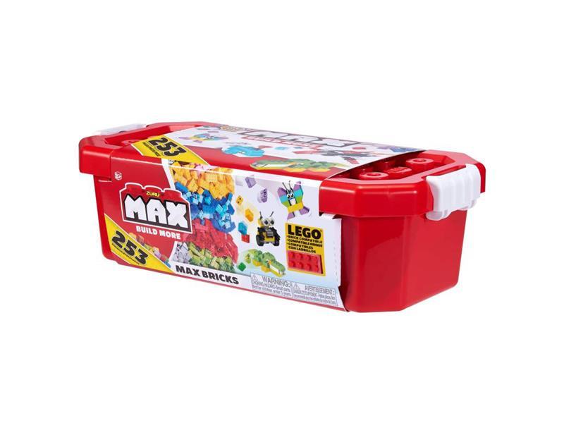 Stavebnice Max Build More: 253 dílků - set v boxu
