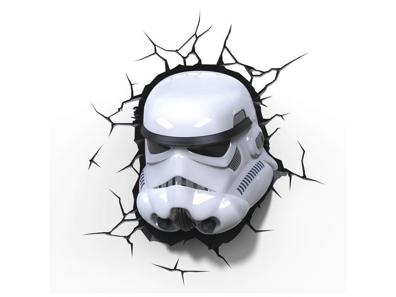 Světlo 3D EP7 - Star Wars Storm Trooperova maska