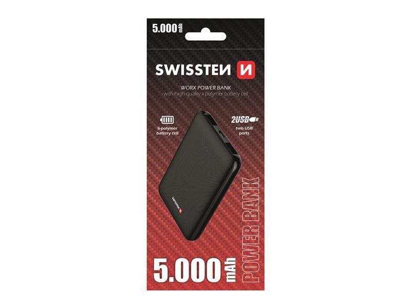 PowerBank SWISSTEN WORX 5000 mAh
