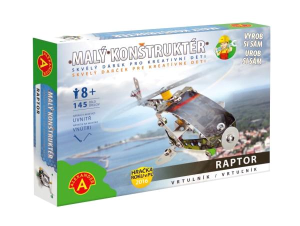 Stavebnice PEXI MALÝ KONSTRUKTÉR vrtulník Raptor