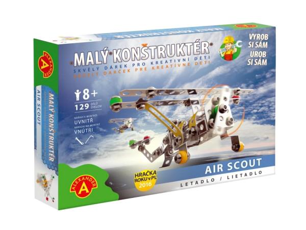 Stavebnice PEXI MALÝ KONSTRUKTÉR letadlo Air Scout