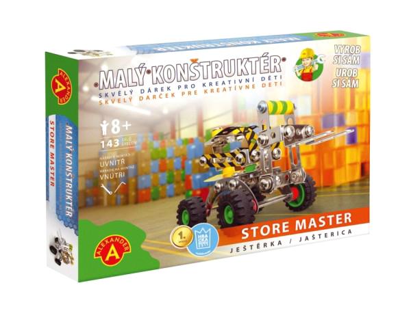 Stavebnice PEXI MALÝ KONSTRUKTÉR ještěrka Store Master