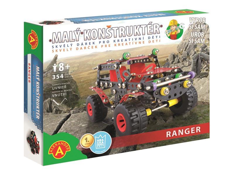 Stavebnice PEXI MALÝ KONSTRUKTÉR terénní auto Ranger