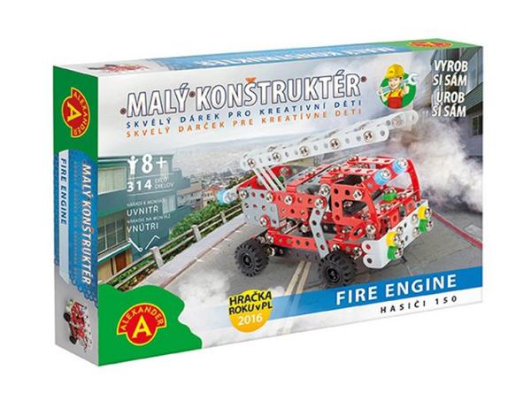 Stavebnice PEXI MALÝ KONSTRUKTÉR hasiči Fire Engine
