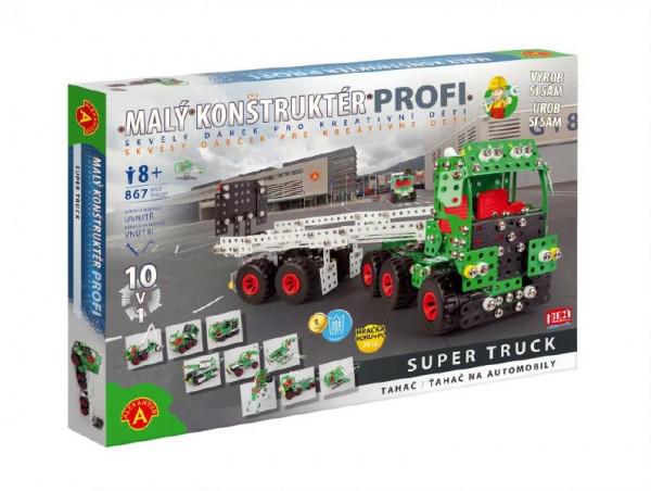Stavebnice PEXI MALÝ KONSTRUKTÉR tahač Profi Super Truck