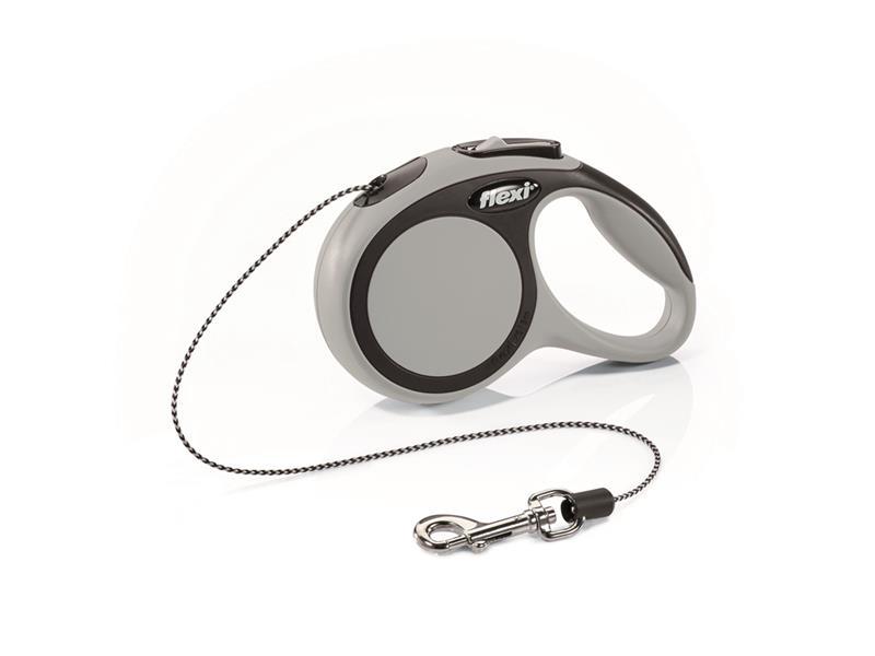 Vodítko pro psy FLEXI New Comfort XS lanko 3m/8kg šedé