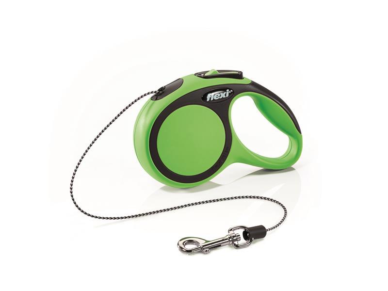Vodítko pro psy FLEXI New Comfort XS lanko 3m/8kg zelené