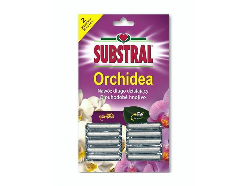 Hnojivo SUBSTRAL pro orchideje 10ks