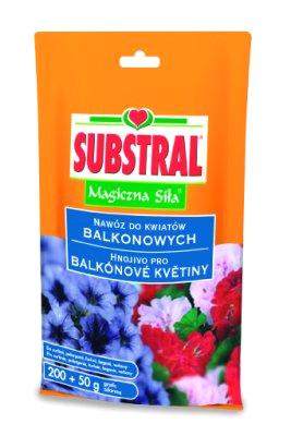 Hnojivo SUBSTRAL pro balkónové rostliny 250g
