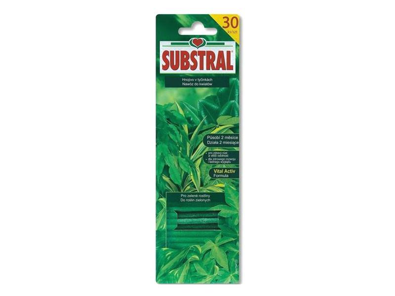 Hnojivo SUBSTRAL pro okrasné rostliny 30ks