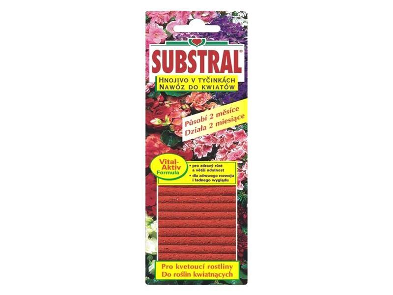Hnojivo SUBSTRAL pro kvetoucí rostliny 30ks