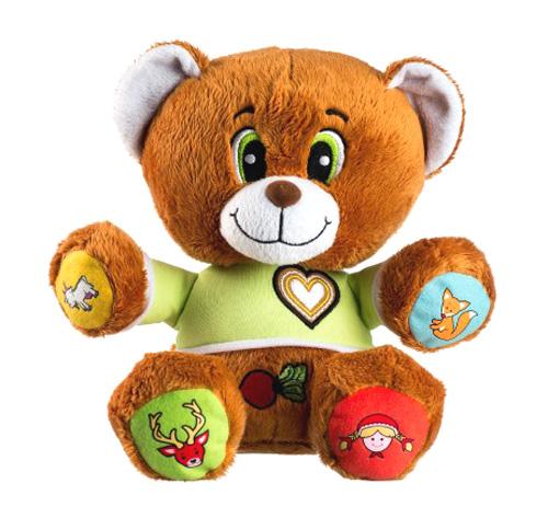 Dětský plyšový medvídek TEDDIES VOJTÍK česky mluvící
