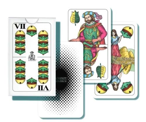 Karetní hra BONAPARTE Mariáš dvouhlavý