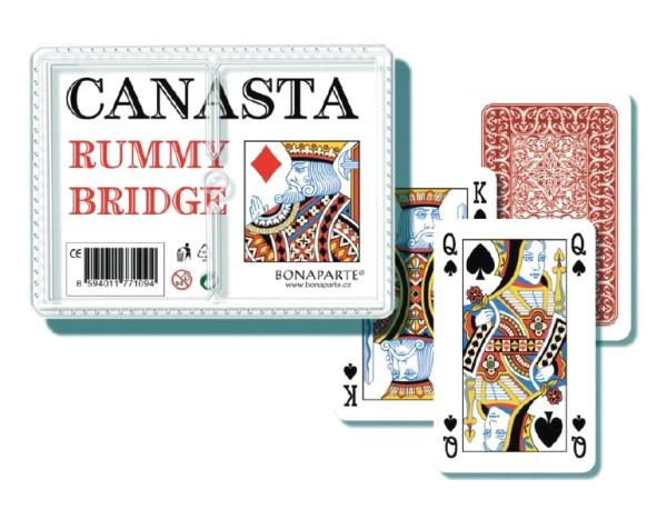 Hra karetní BONAPARTE CANASTA