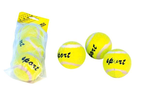Dětské tenisové míčky TEDDIES 3ks