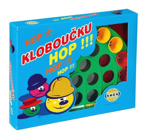 Hra stolní SMĚR KLOBOUČKU, HOP!