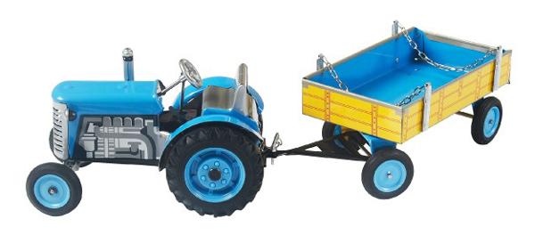 Dětský traktor KOVAP ZETOR BLUE 28 cm
