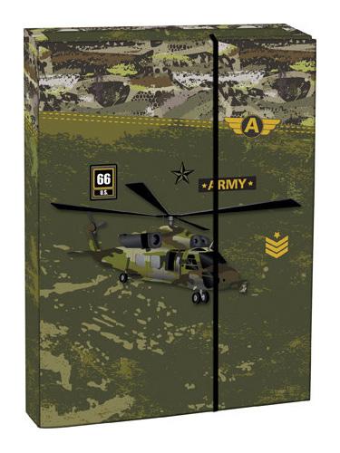 Box na sešity A4 Army STIL
