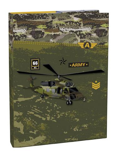 Box na sešity A5 Army STIL