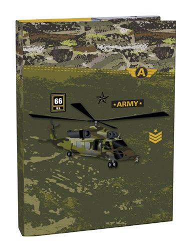 Box na sešity s klopou A4 Army STIL
