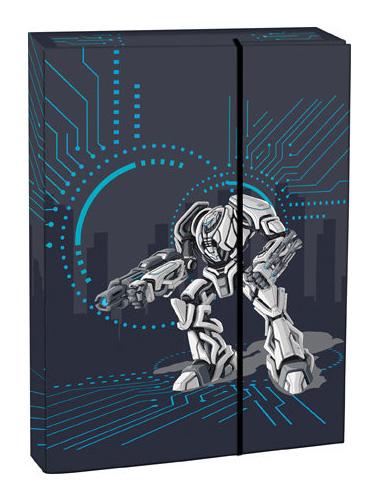 Box na sešity s klopou A4 Transformers STIL
