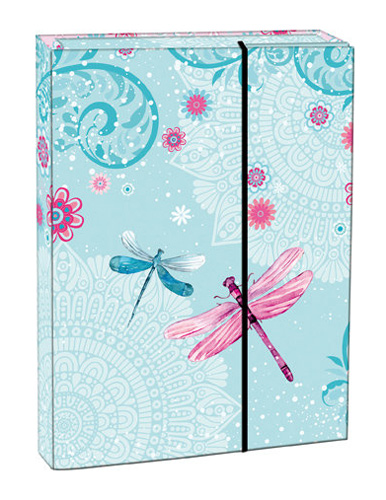 Box na sešity s klopou A5 Dragonfly STIL