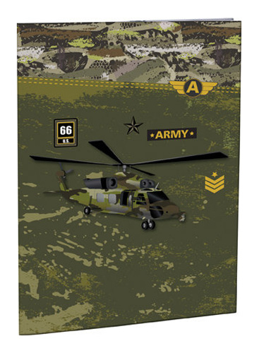 Desky na abecedu Army STIL