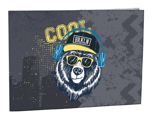 Desky na číslice Cool bear STIL