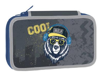Penál dvoupatrový Cool Bear STIL