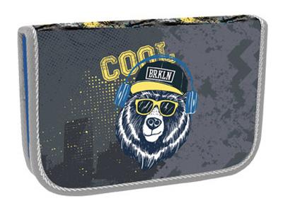 Penál jednopatrový Cool bear STIL