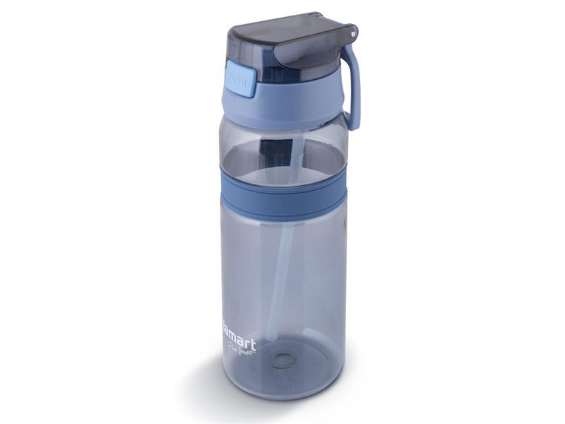 Láhev na vodu LAMART LT4058  modrá straw.