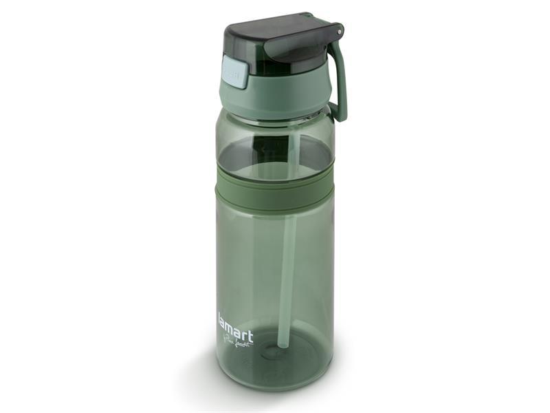 Láhev na vodu LAMART LT4059 zelená straw.