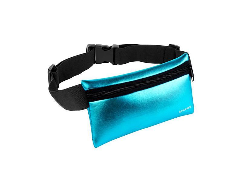 Ledvinka sportovní SPOKEY HIPS BAG modrá