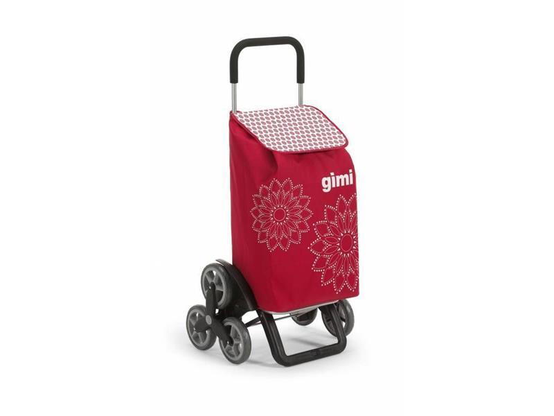 Vozík nákupní GIMI TRIS FLORAL RED 56L 154313