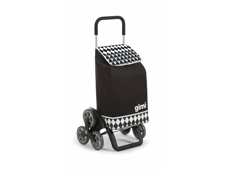 Vozík nákupní GIMI TRIS OPTICAL BLACK 56L 154315