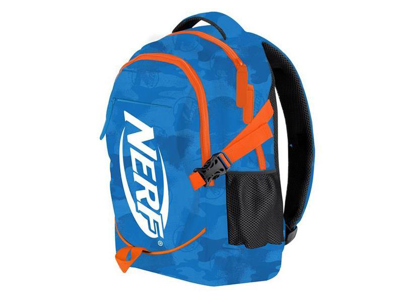 Batoh školní HASBRO BRONCO NERF modro-oranžový