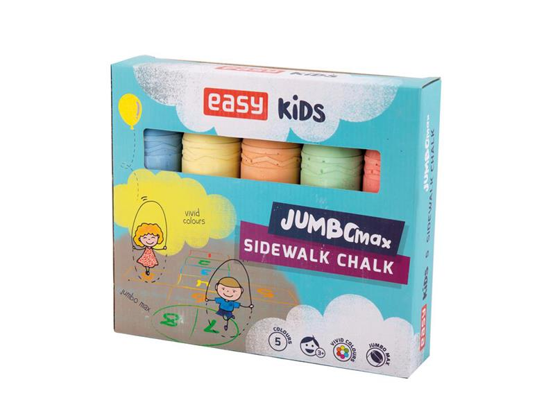 Křídy EASY COLOURS MAX JUMBO 5ks