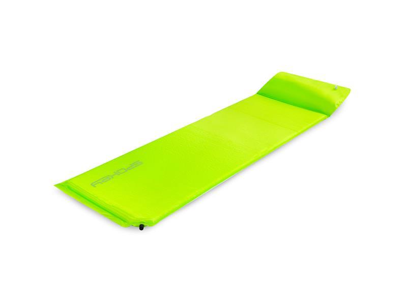 Karimatka samonafukovací SPOKEY SAVORY PILLOW s polštářem zelená